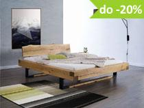 Stylish Bedroom - Stylowe meble dębowe do sypialni kolekcja Stylish Bedroom
