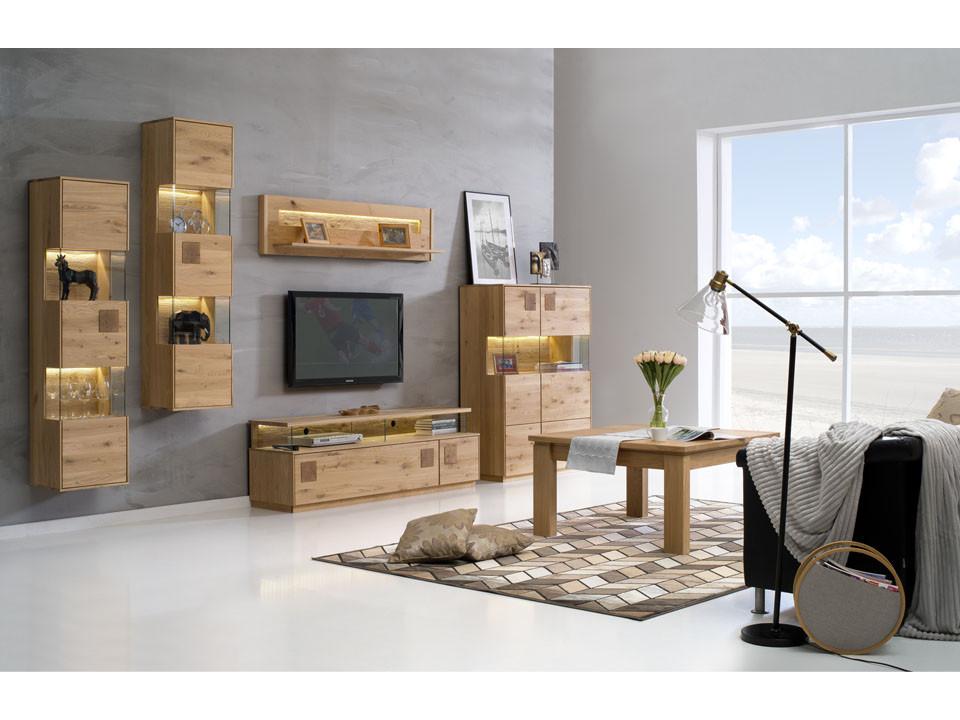 drewniane meble do salonu