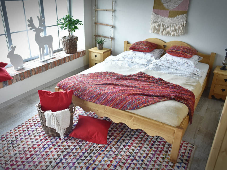 Łóżko drewniane Mexicana 3 140x200
