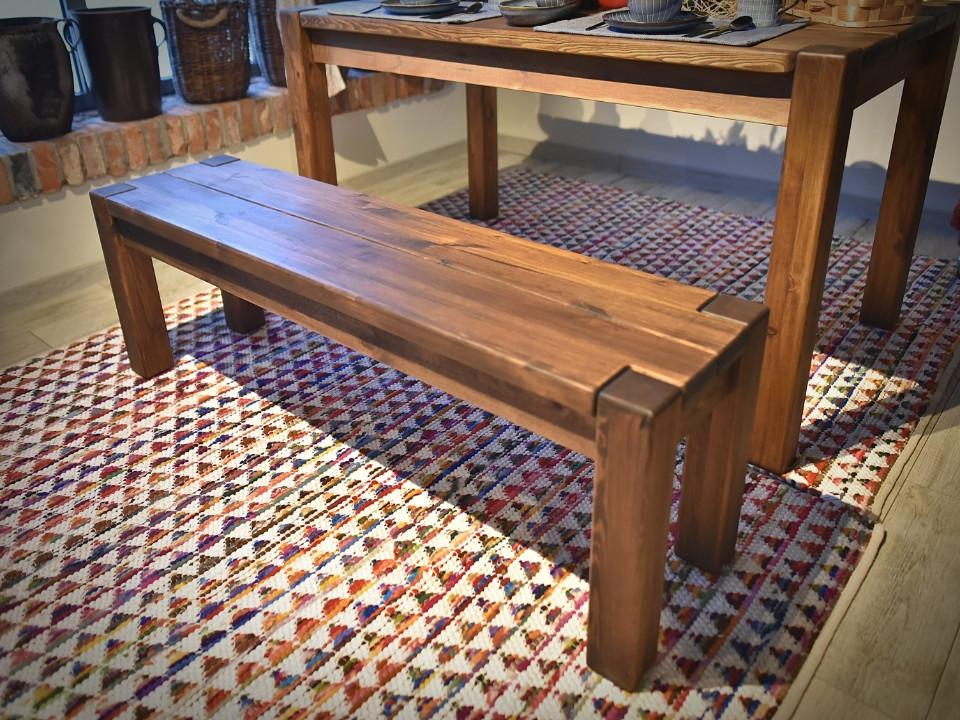 ławka drewniana
