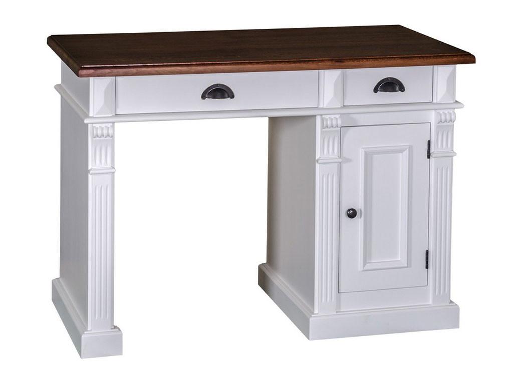 Przestrzenne biurko sosnowe Charlotte II 389