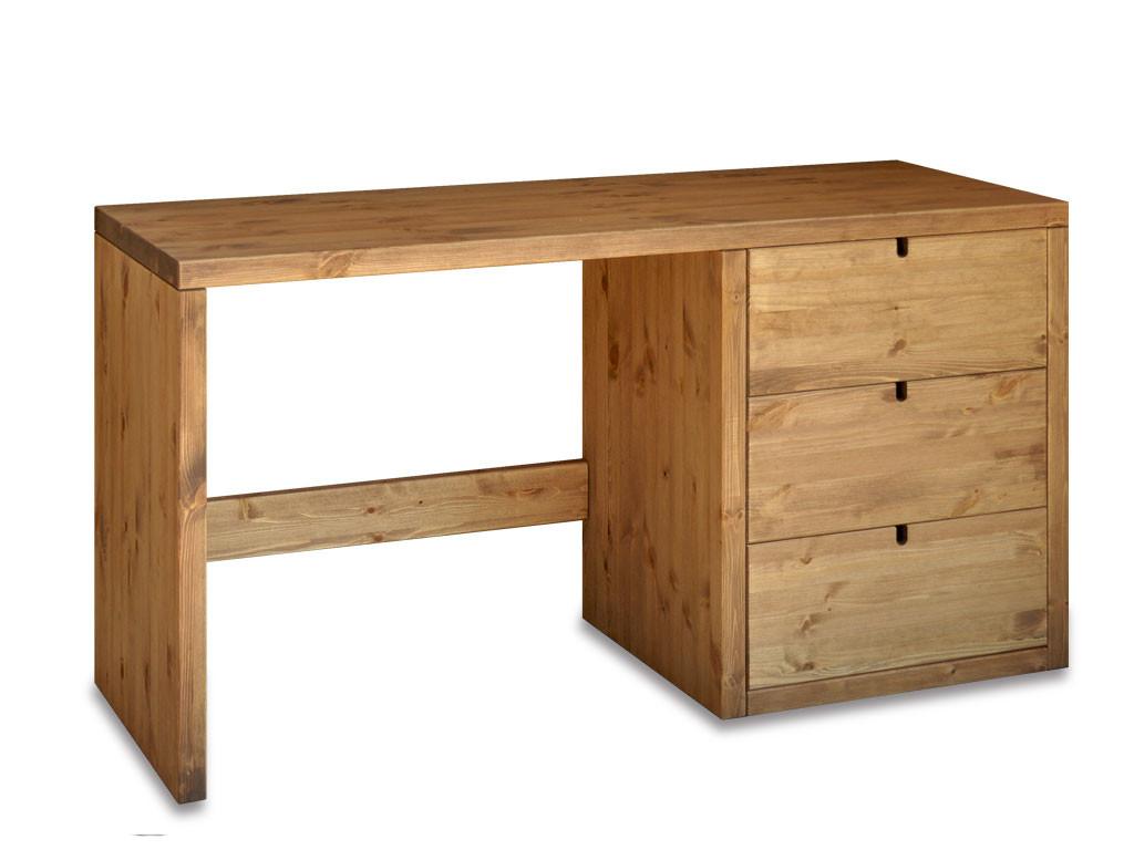 Biurko drewniane, Sosnowe Marika 1