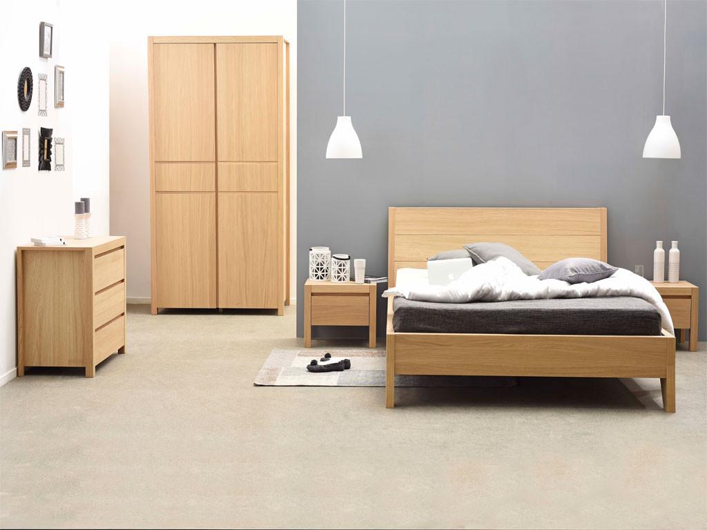 Łóżko drewniane 160x200