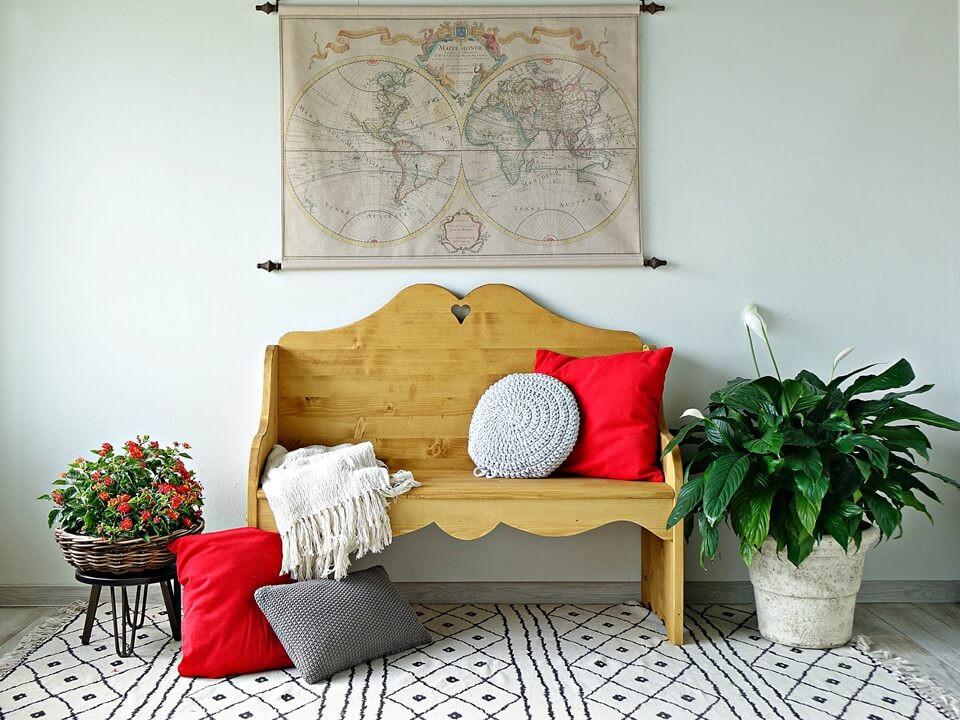 Ławka drewniana Mexicana 2
