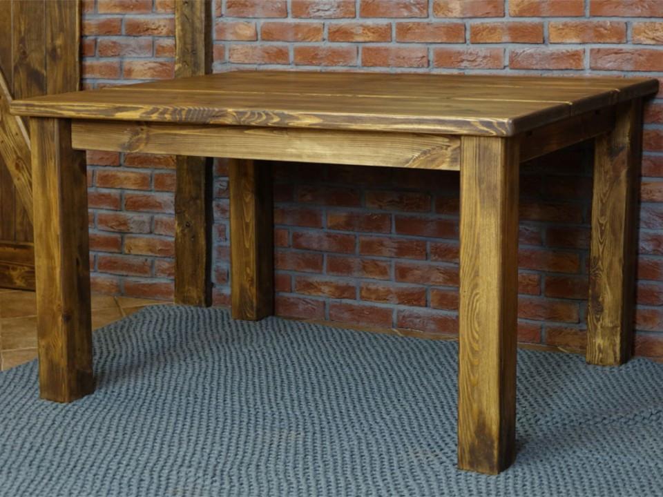 Stół sosnowy woskowany Rustyk 2 120cm - OSTATNIE SZTUKI