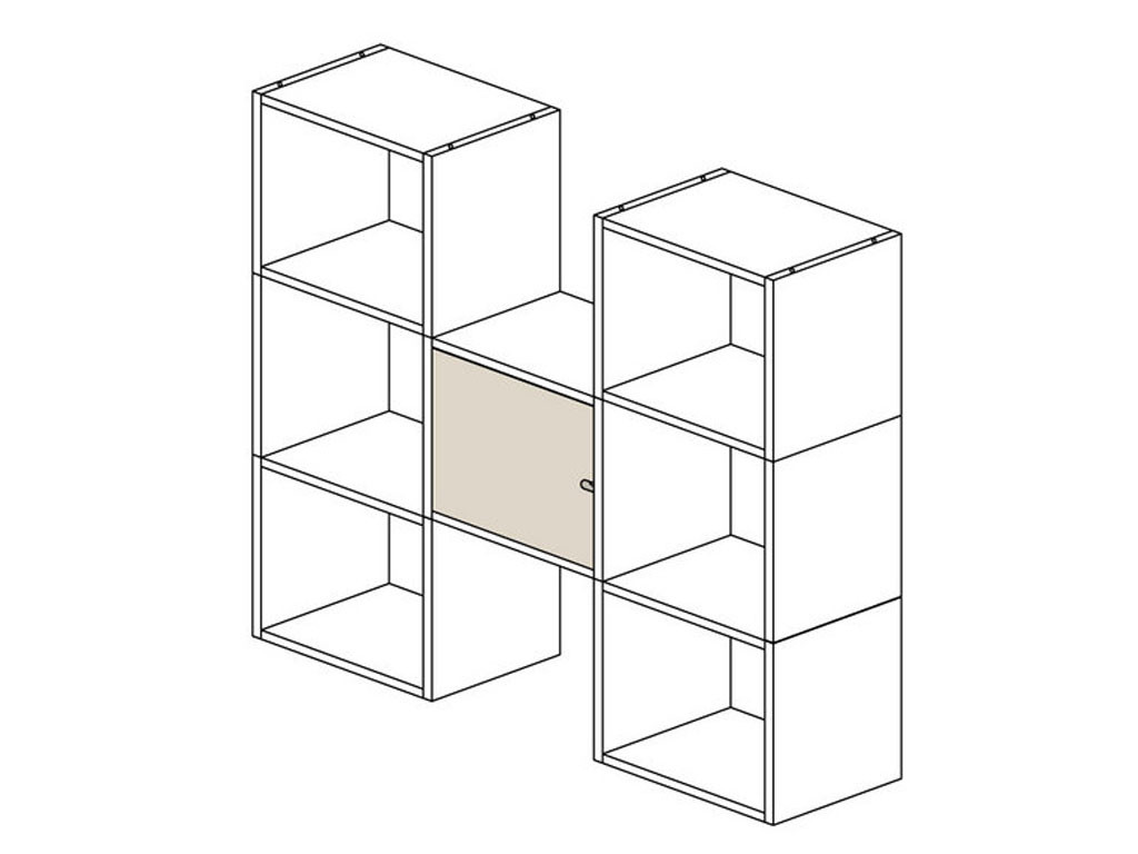 Drzwiczki do Regałów modułowych KOSTKA 40x40 cm (20)
