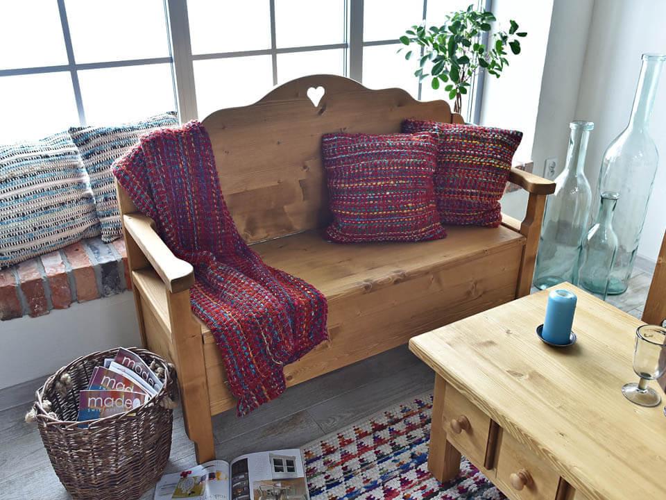 Ławka drewniana Mexicana 4