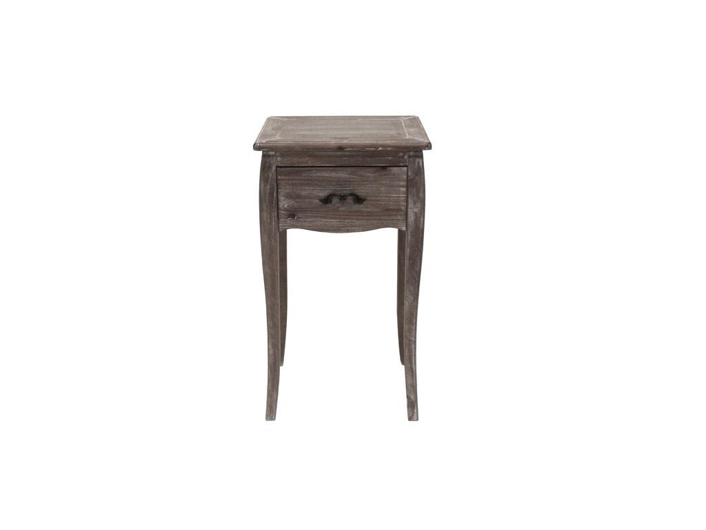 Bielona komoda drewniana Adele 1