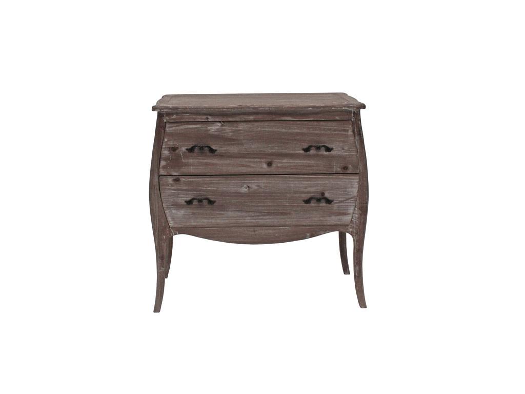 Bielona komoda drewniana Adele 4