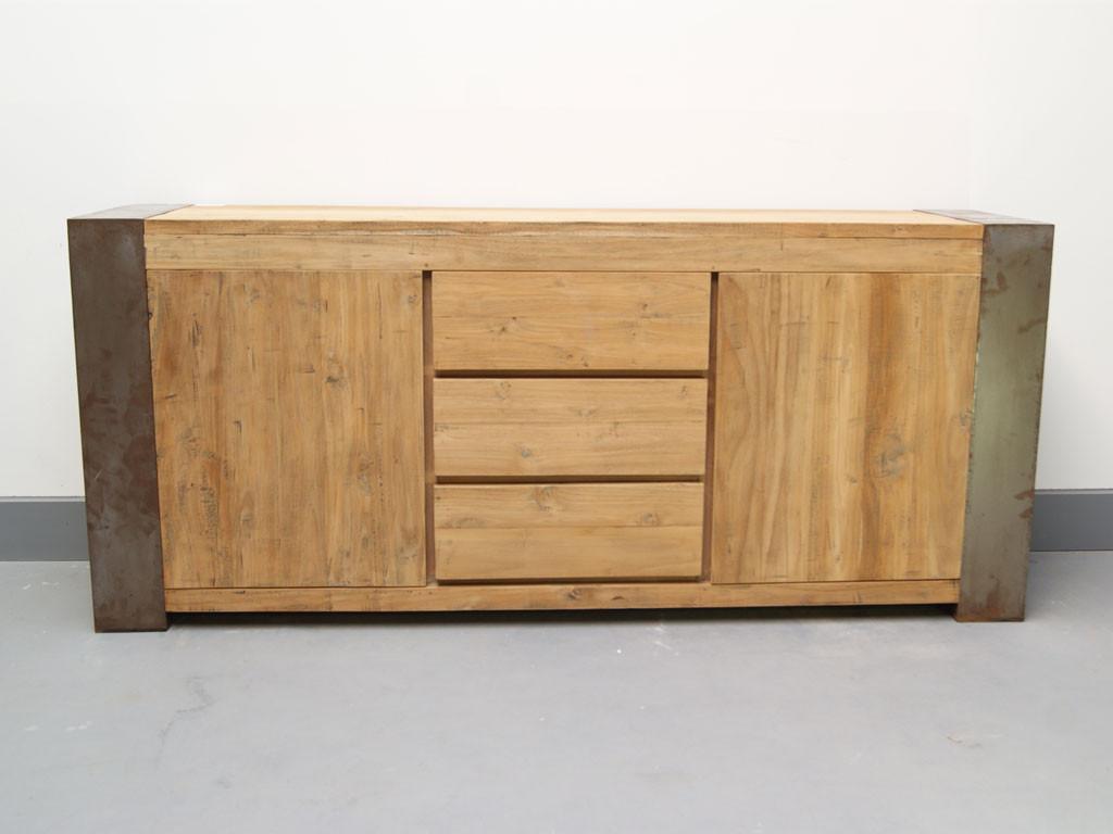 Komoda z drewna z recyklingu Loft