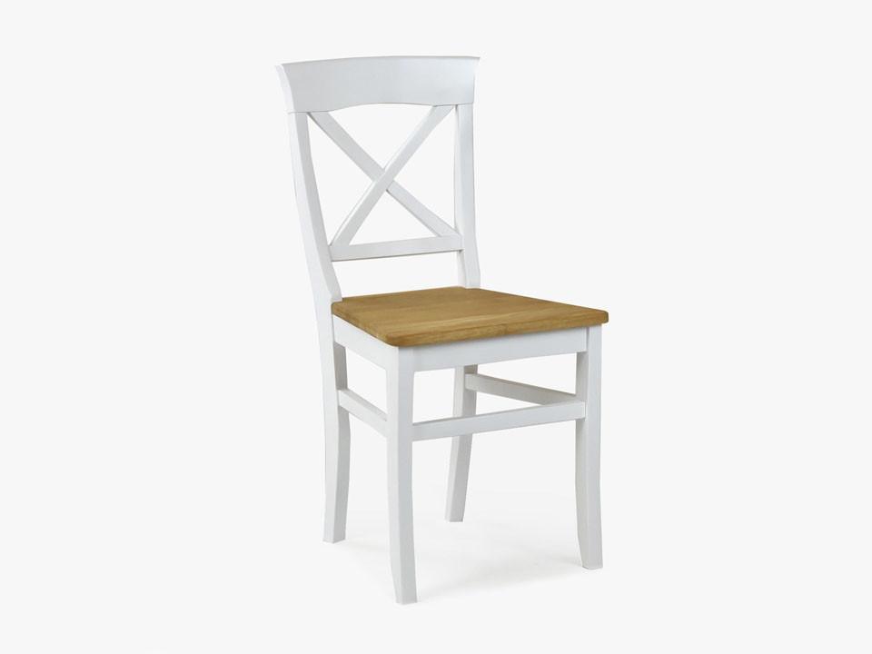 krzesło drewniane dębowe