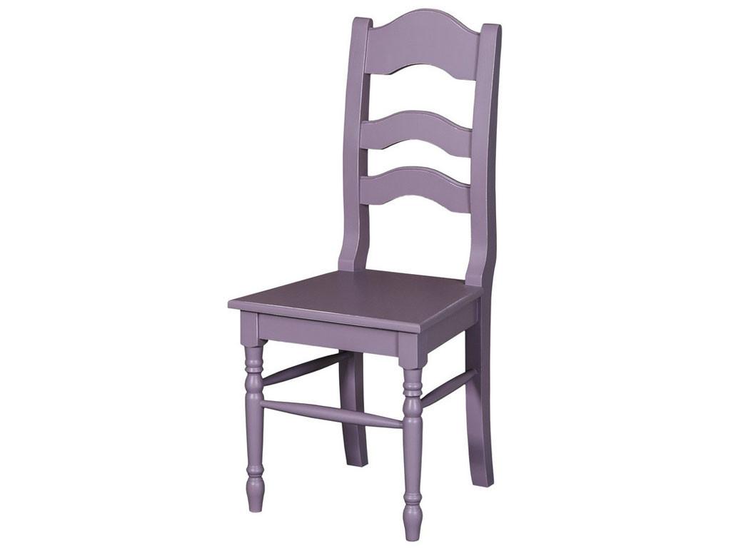 Krzesło z drewna litego