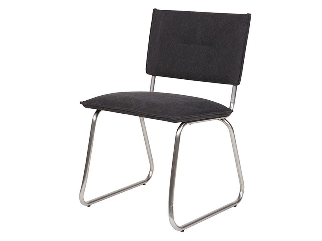 Krzesło z bawełnianym obiciem Evi 2 szt.