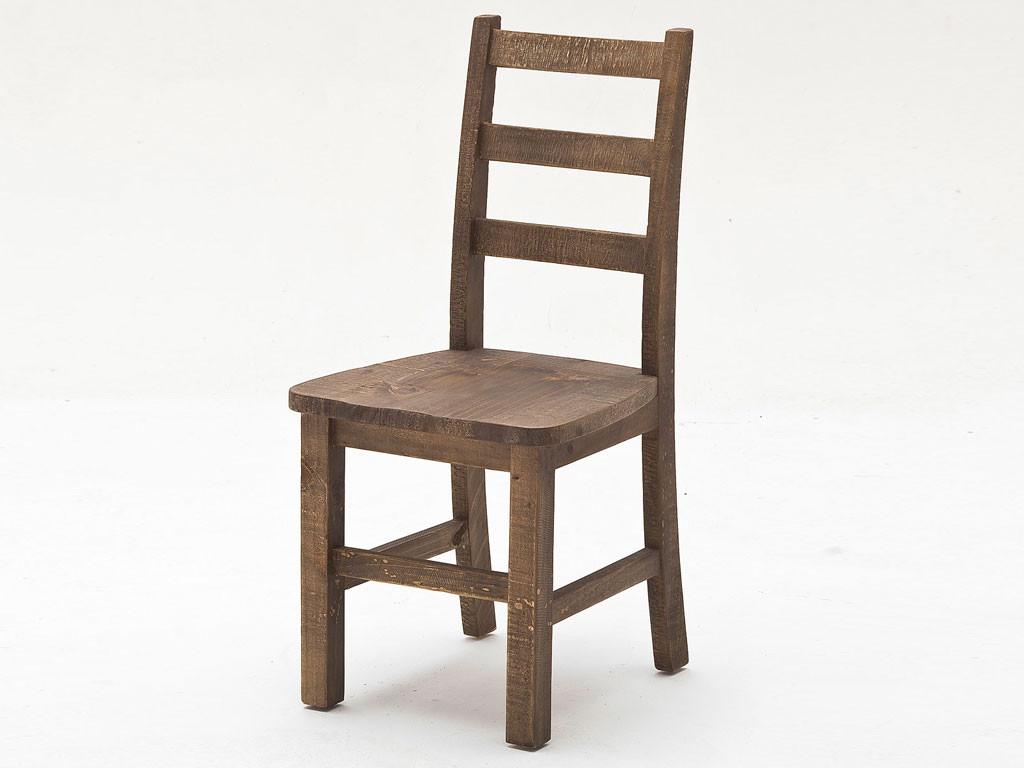 Krzesło z drewna sosnowego Iron 1