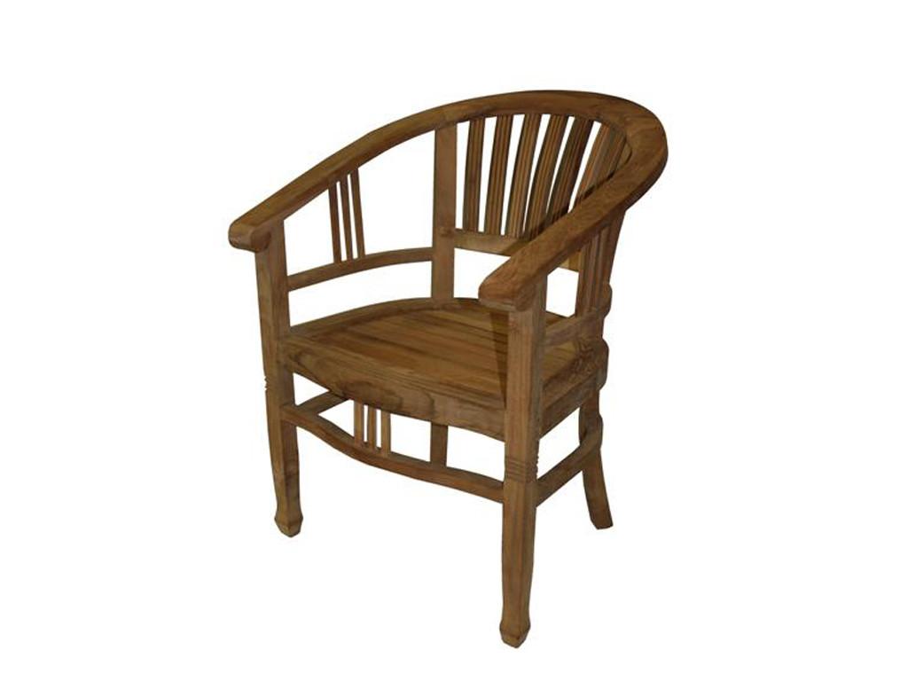Krzesło teakowe Natural 5