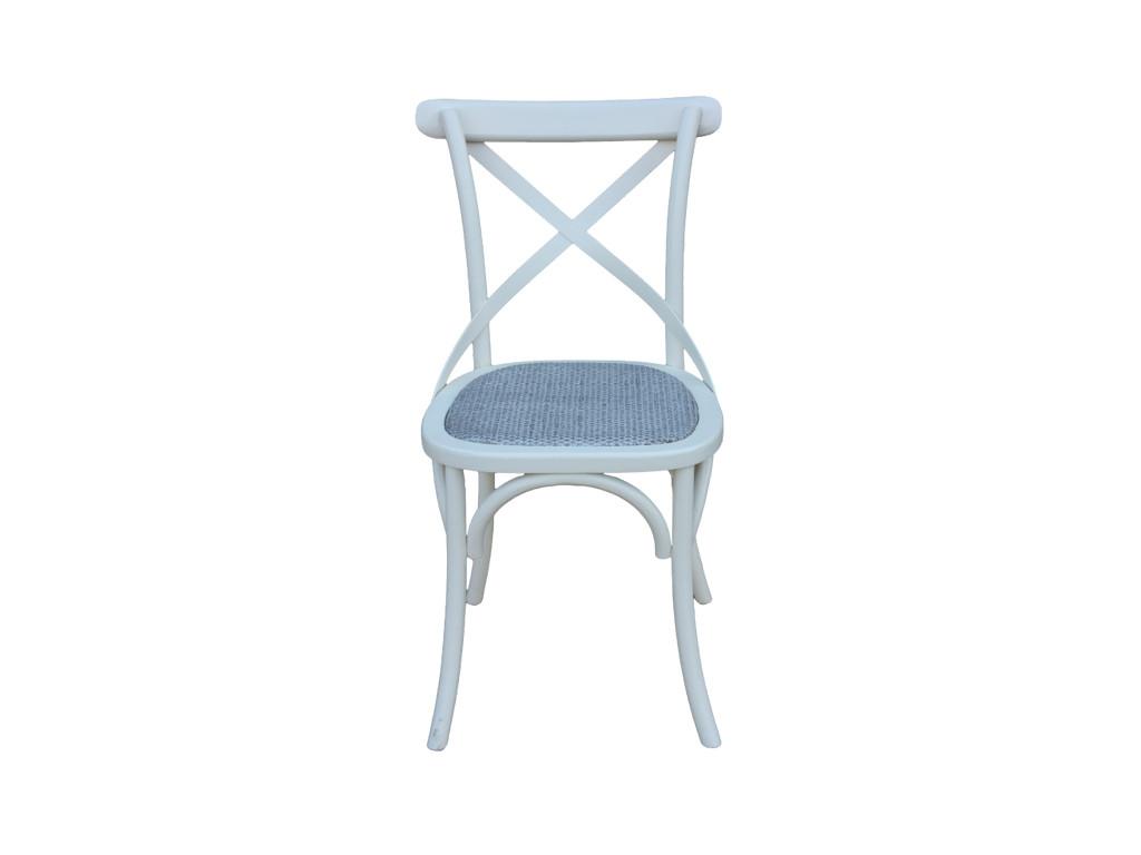 Białe krzesło Odyssey