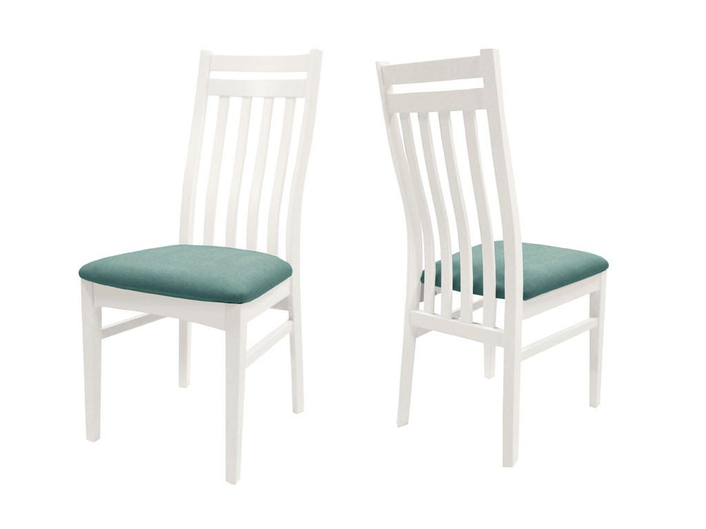 Białe krzesło brzozowe Olsen 2