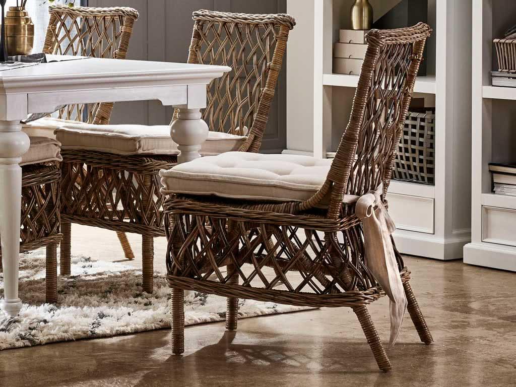 Krzesło Rattanowe Aristocrate z poduszką