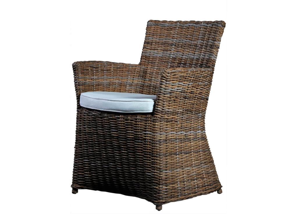 Krzesło Rattanowe Bishop z poduszką