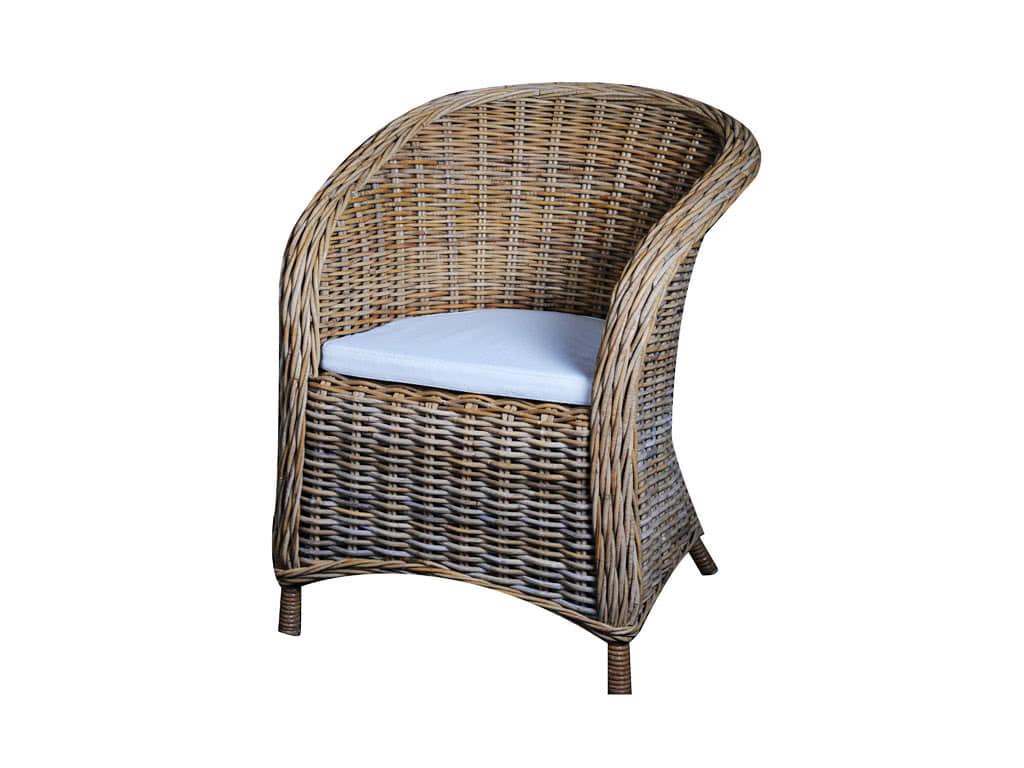 Krzesło Rattanowe Bonsun z poduszką