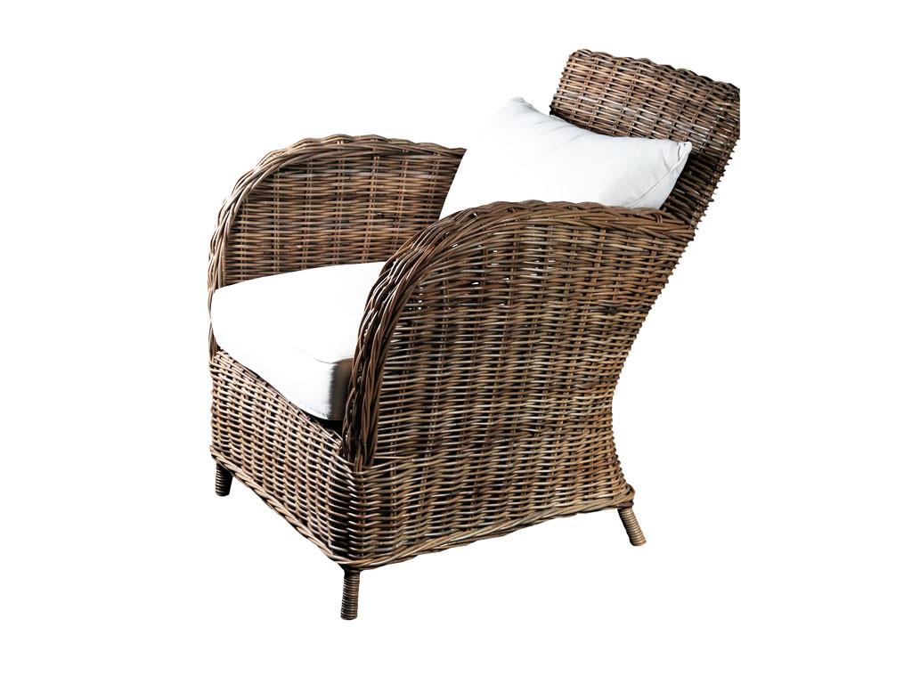 Krzesło Rattanowe Knight z poduszką