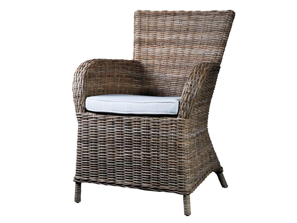 Krzesło Rattanowe Rook z poduszką
