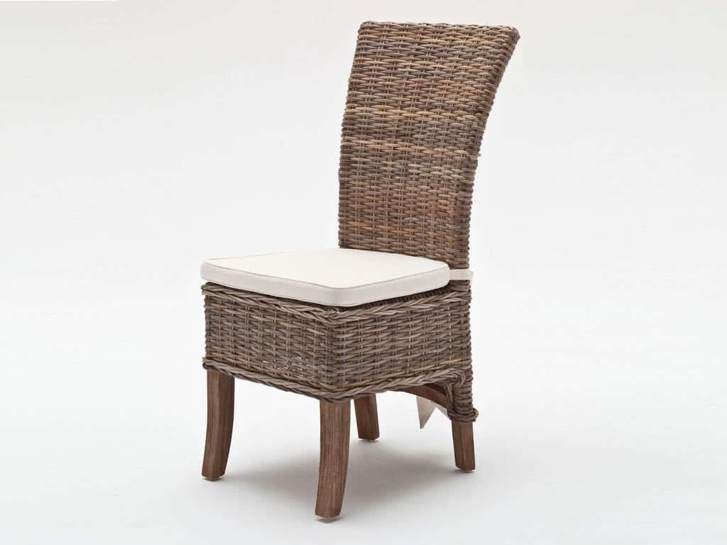 Krzesło Rattanowe Salsa z poduszką