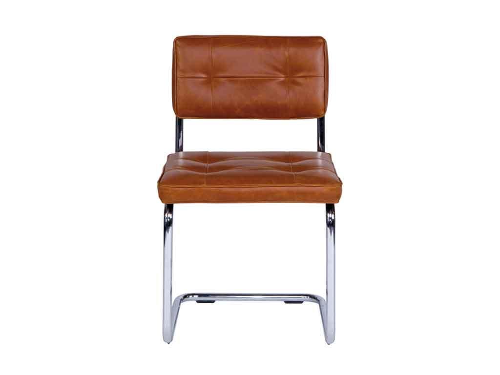Krzesło skórzane Ruby