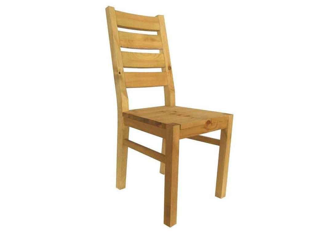 Krzesło sosnowe Majestic