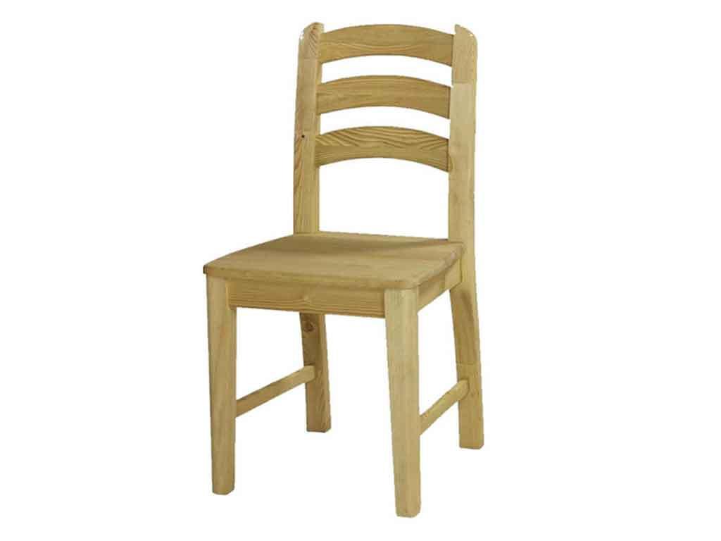 Krzesło sosnowe tapicerowane Marco 6