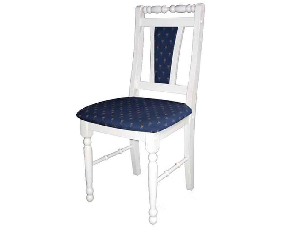 Krzesło sosnowe tapicerowane Marco 7