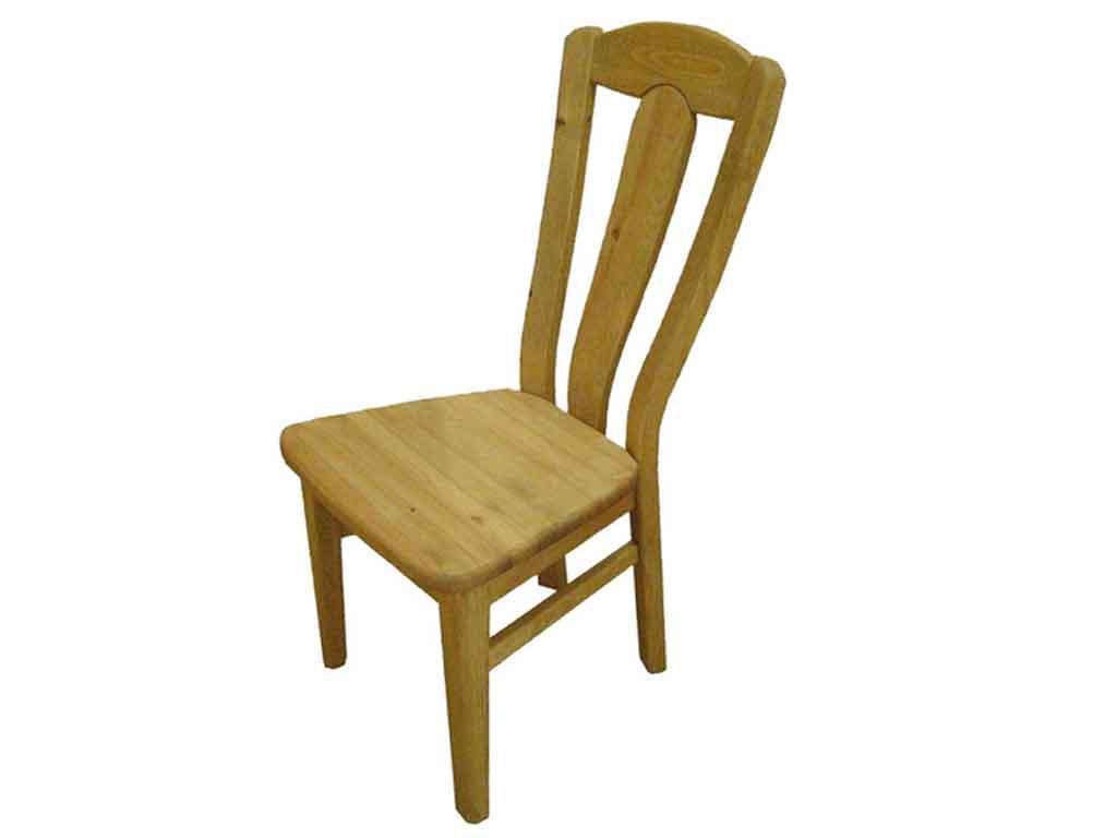 Krzesło sosnowe tapicerowane Marco 8