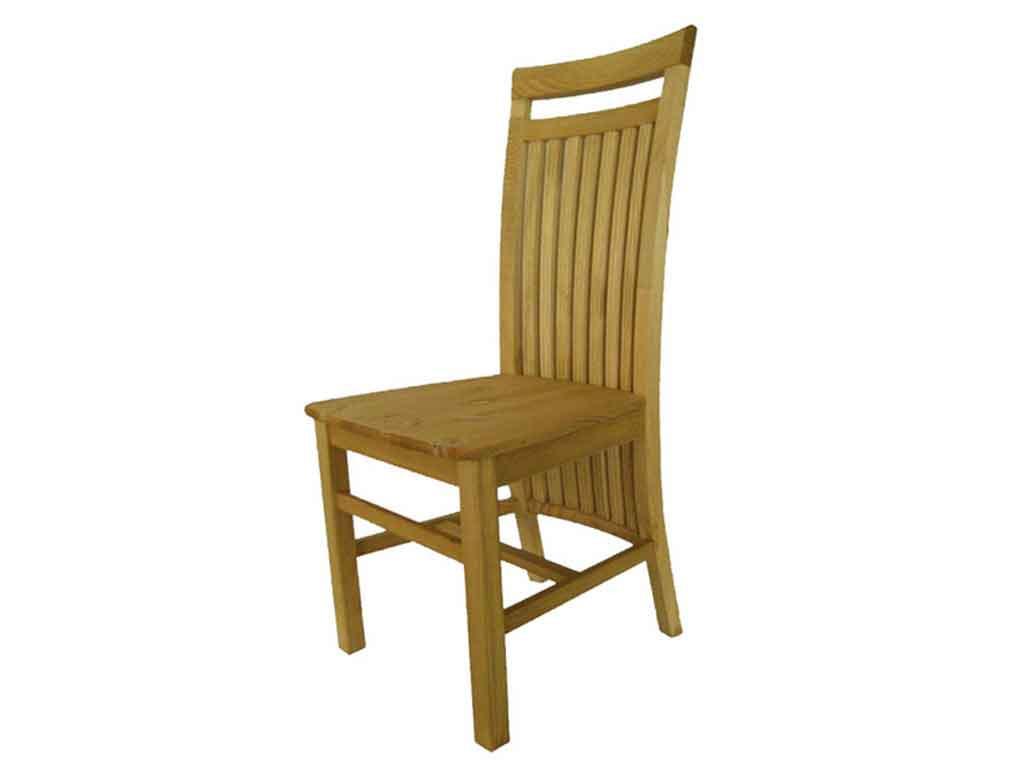 Krzesło sosnowe tapicerowane Marco 9