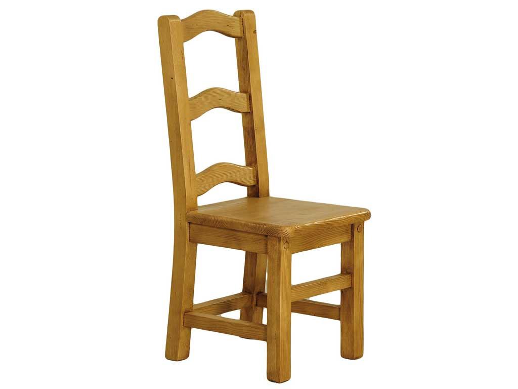 krzesło sosnowe