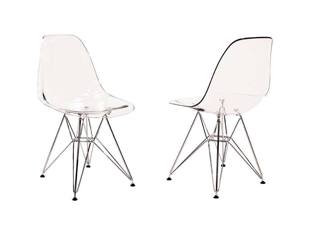 Krzesło akrylowe Verdi