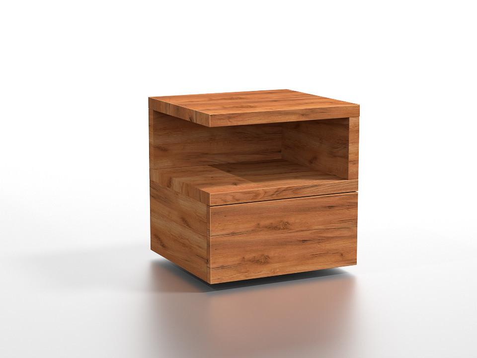 Drewniana szafka nocna Lamar