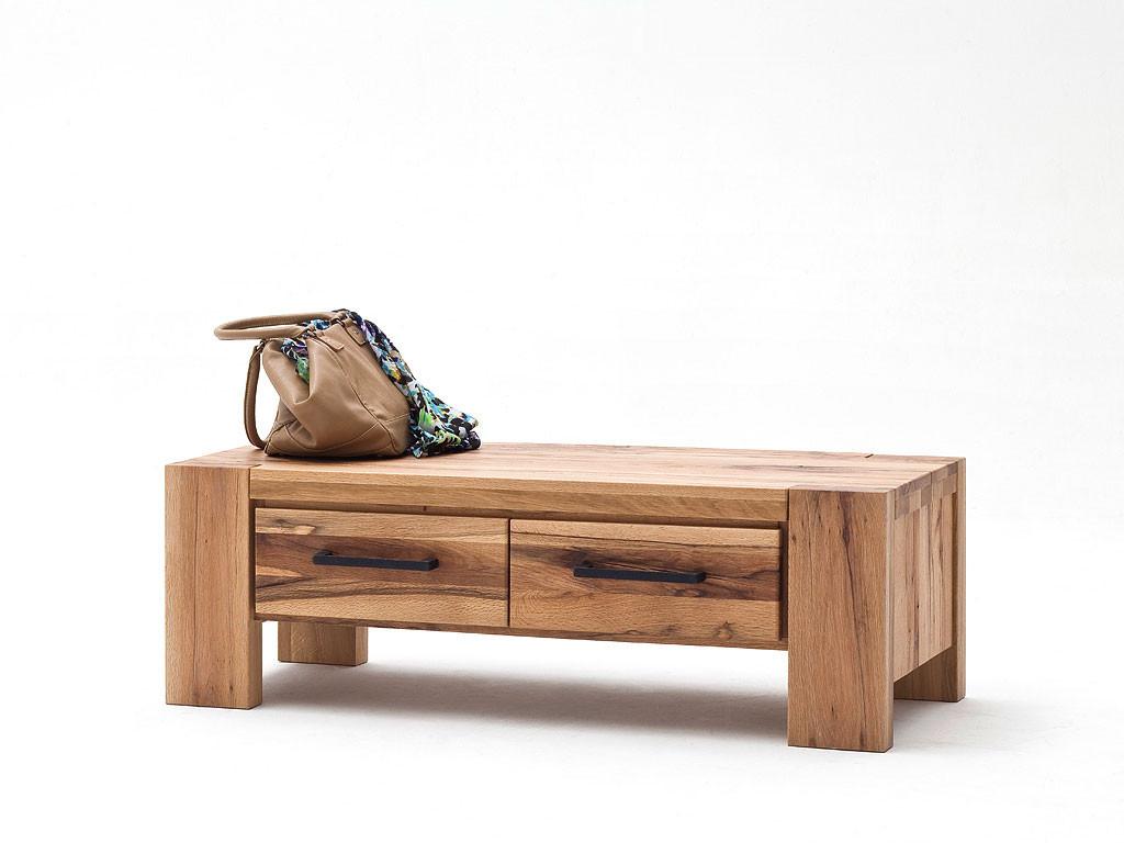 Ławka z drewna dębowego Solid
