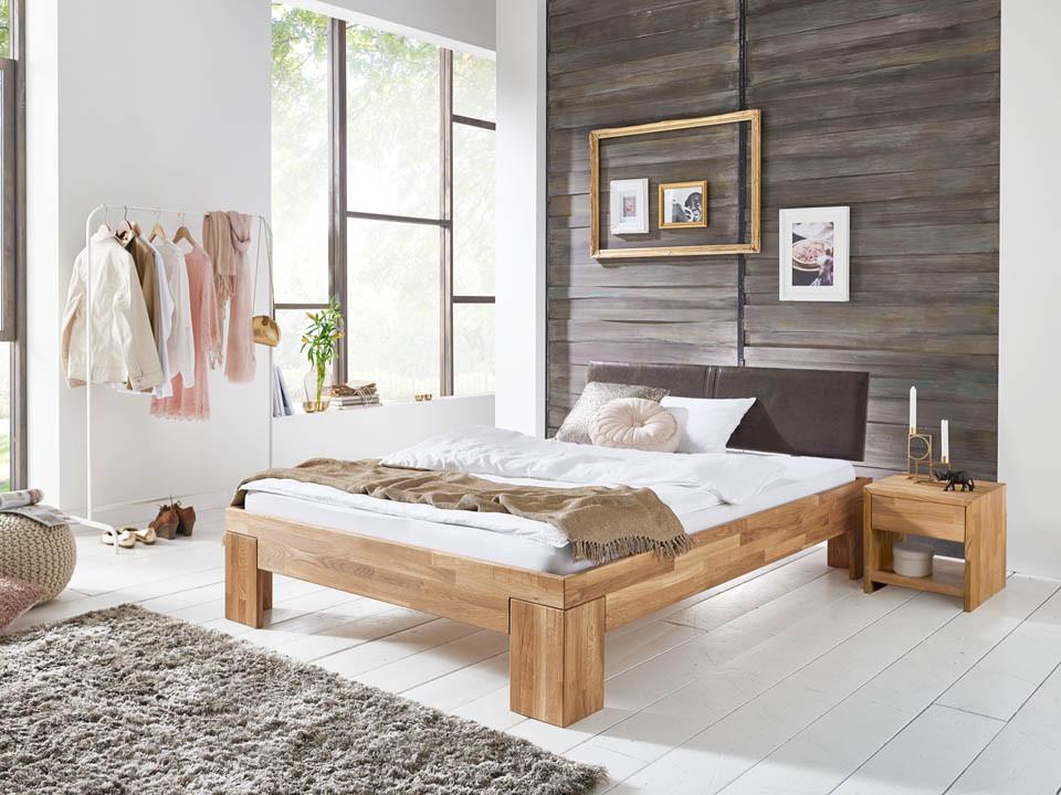 Łóżko dębowe Klara 140