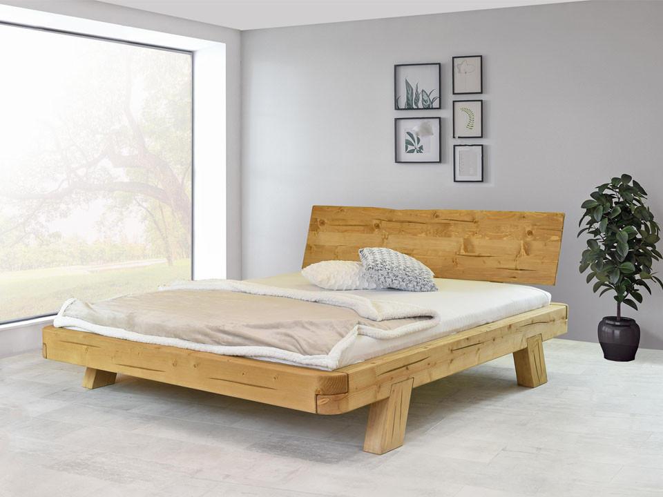 łóżko drewniane świerkowe
