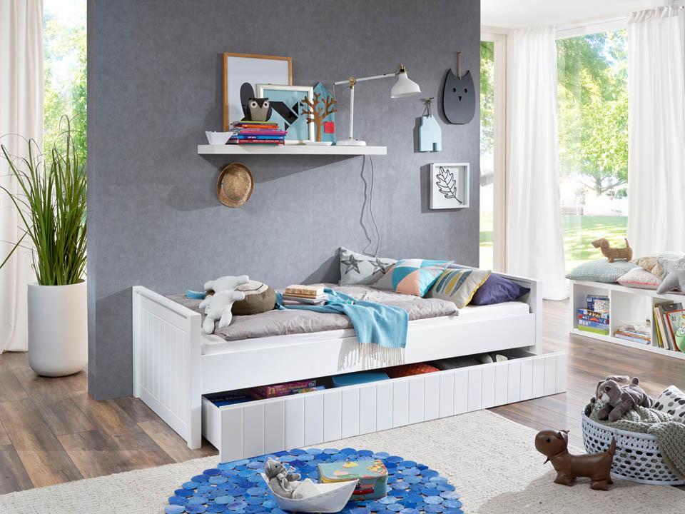 Łóżko parterowe Wendy 77 90x200