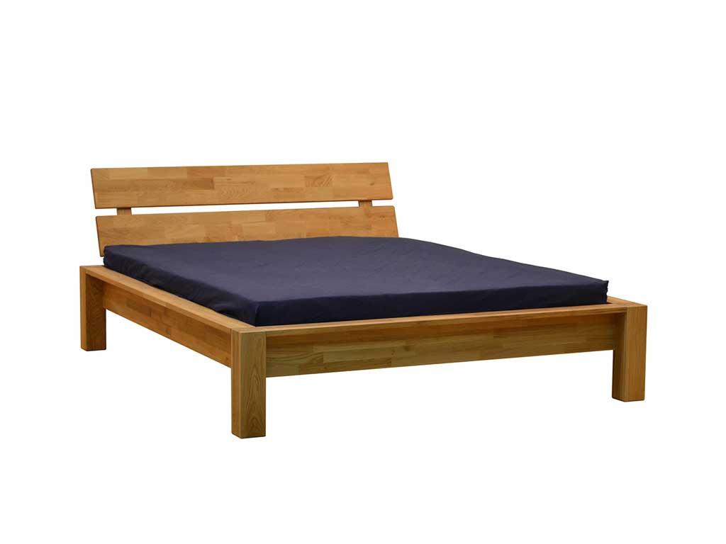 Łóżko dębowe Agnes 160