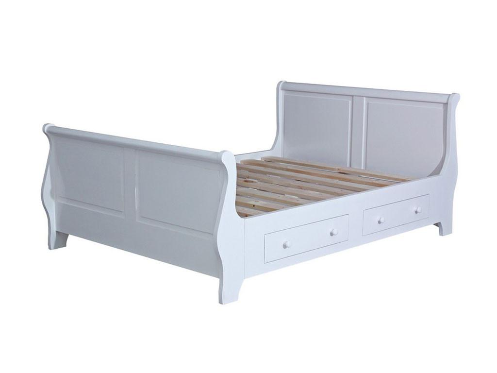 Łóżko z szufladami Charlotte 61 140x200