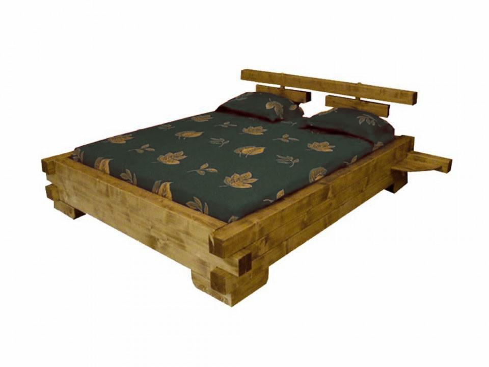 łóżko świerkowe