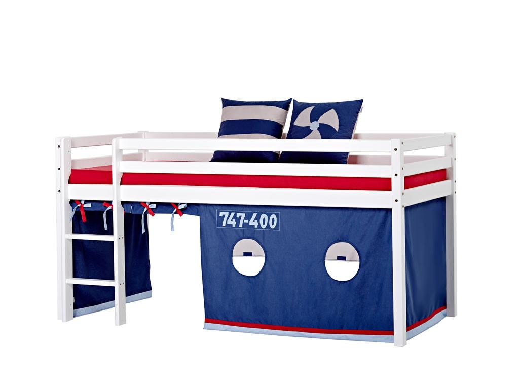 Łóżko sosnowe antresola Maja BASIC 19 70x190cm