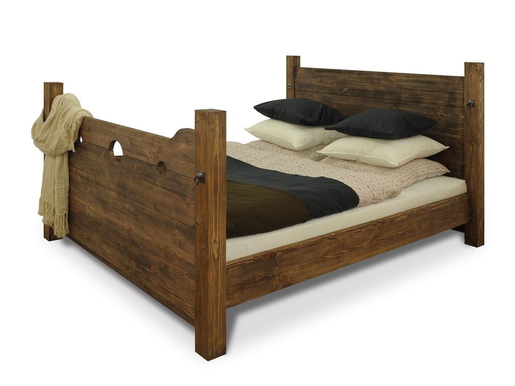 Łóżko Sosnowe Heros 140