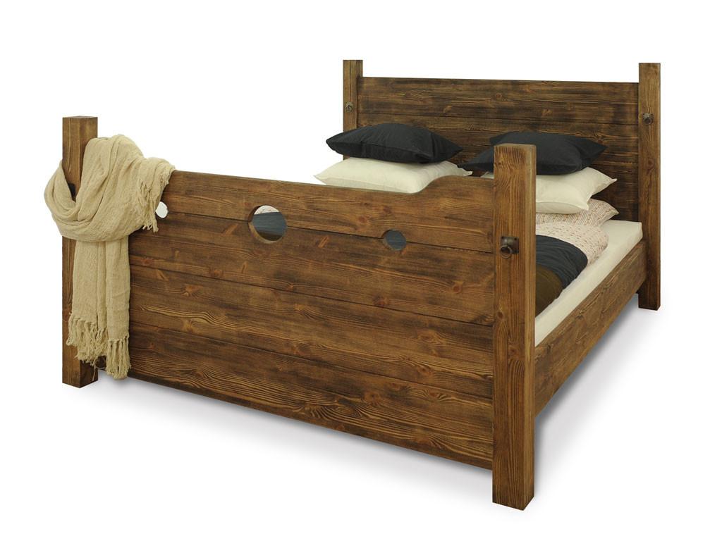 Łóżko Sosnowe Heros 160