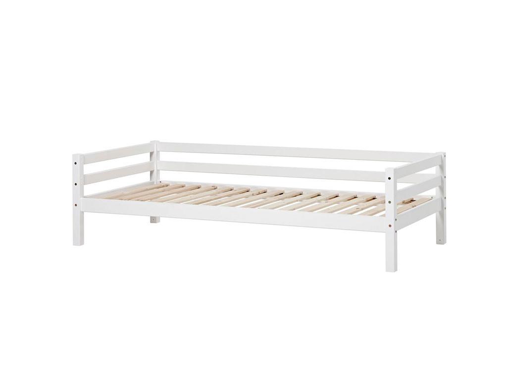 łóżko sosnowe parterowe