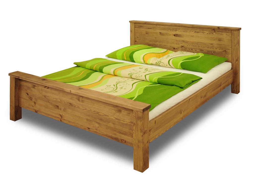 Drewniane Łóżko Sosnowe Olaf 180
