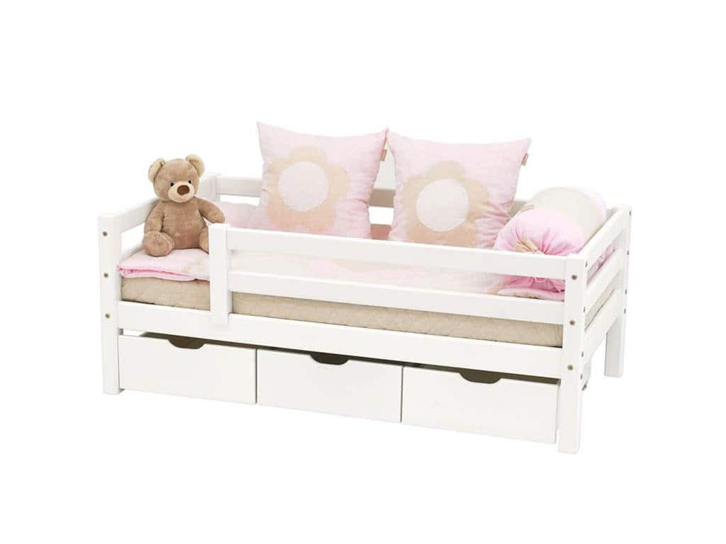 łóżko parterowe do pokoju dziecięcego