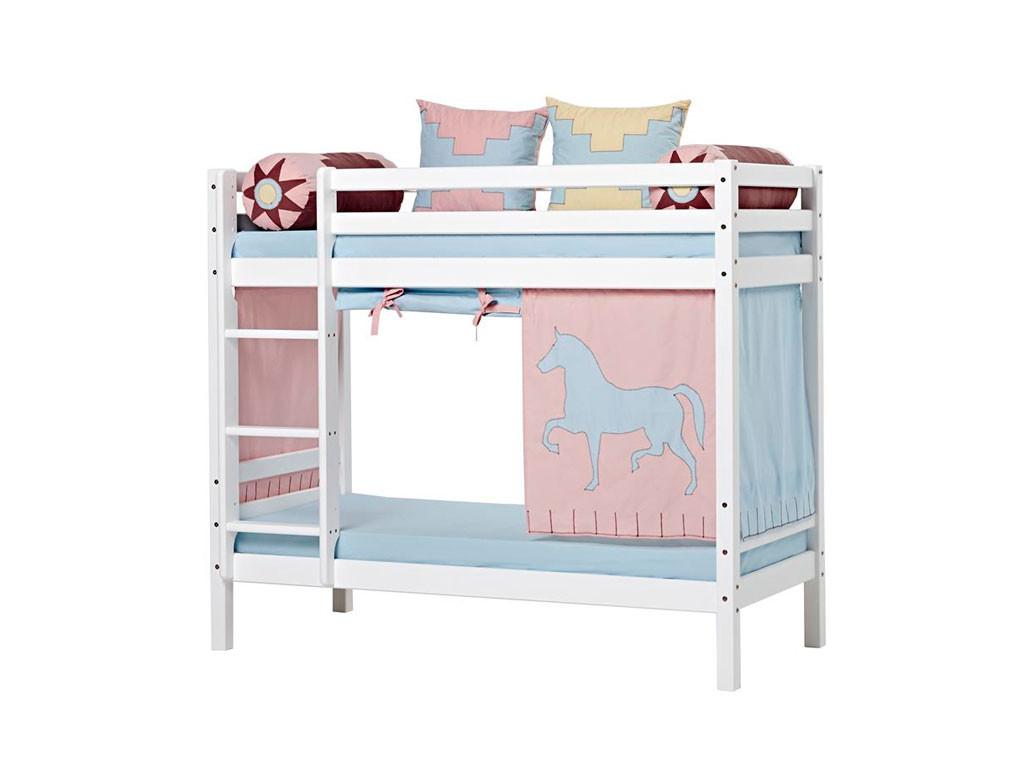 łóżko sosnowe piętrowe